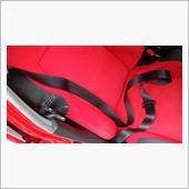 シートベルト掃除の画像