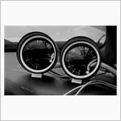 吸気計電圧計交換とモニタホルダ調整。