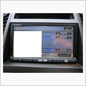 PIONEER carrozzeria 楽ナビ AVIC-HRZ009G タッチパネル 調整の画像