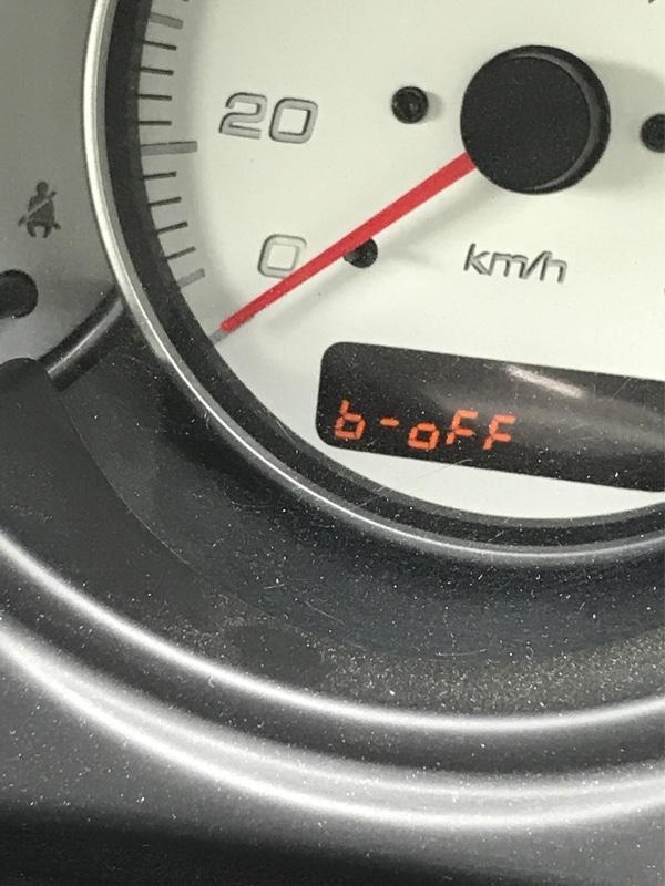 シートベルト警告音解除設定