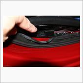 ウィンドキーパーの取付 番外編 - ガチャ玉で簡単取付 & 車体補強!?の画像