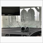 洗車とエアコンガス補充の画像