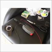 シートベルト警告灯が点くように修理の画像