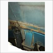 タイヤハウス塗装 フロント