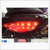 LEDテールランプとシーケンシャルウインカー