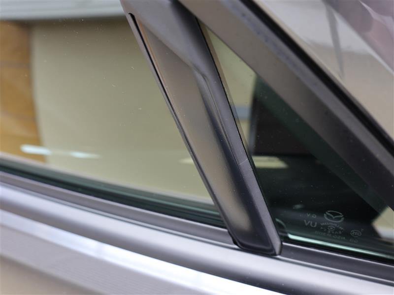 ガラスガイド&ベルトラインモール交換~ガラスガイドの錆修理