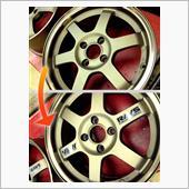 ■RAYS VOLK RACING TE37 Repair DISK Sticker■の画像