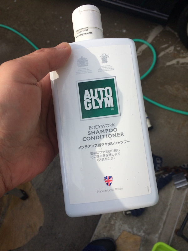 梅雨の合間のシャンプー洗車‼️(^_^)