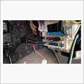 KENWOODのドラレコ「DVR-320」の取り付けの画像