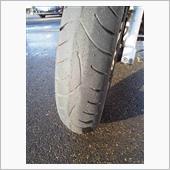 タイヤ交換 42000km(15000km走行)