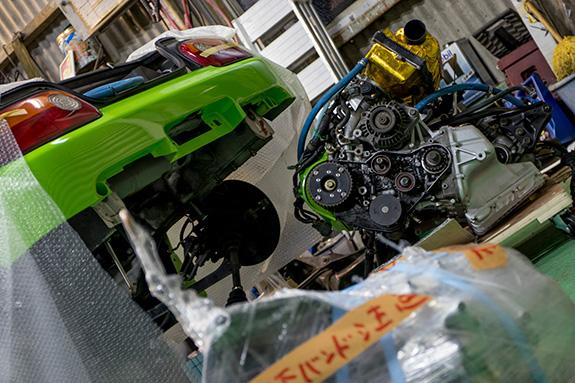 Honda ホンダ ビート Beat E07A 静流