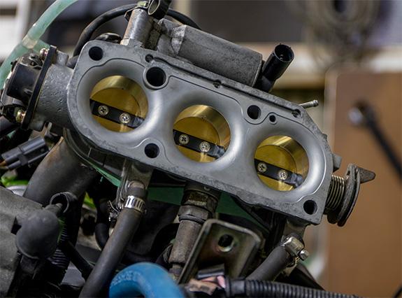 Honda ホンダ ビート Beat E07A MTREC ビッグスロットル加工 by ASLAN