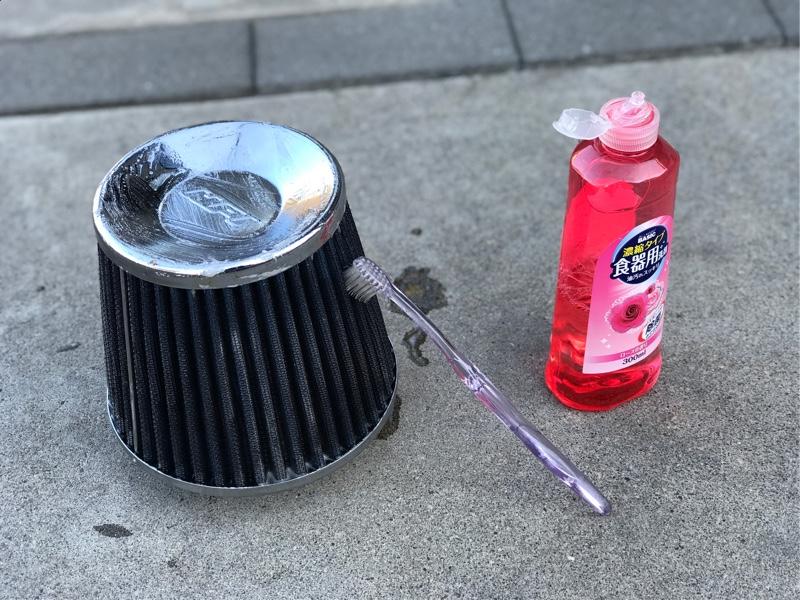 エアクリーナー清掃