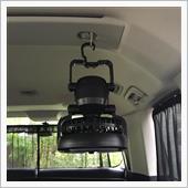 有ると便利 LEDライト付き扇風機の画像