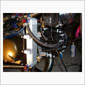 小ネタ2件:オイルクーラーと油温センサー移設