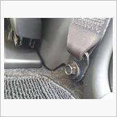 シートベルトアウターアンサーカバー取付の画像