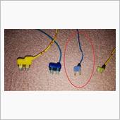 USB電源をバッ直に。