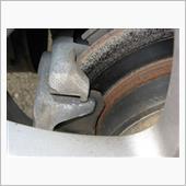 リアブレーキ故障修理の画像