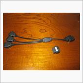 OBDII 3分岐 分岐ケーブル&車速感応ドアロック取付!の画像