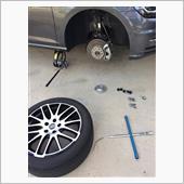 タイヤ再取付(ジャダー対策)の画像
