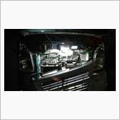DA63T・キャリイ : 停車中にエアコン効かず、コンデンサーファンモーターのヤッツケ修理。の画像
