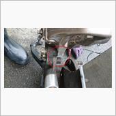 ISF6potブレンボを取り付けの画像