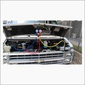 エアコンコンプレッサー交換2の画像