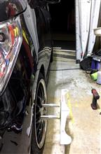 Tuning Garage REV さんにてアライメント調整(レーシングアライメント編)