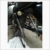 ドラムブレーキ固着修理の画像