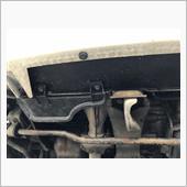 フロントバンパー下の穴埋め&ラジエーター回りスポンジ交換の画像