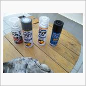 バッテリーホルダー再塗装の画像