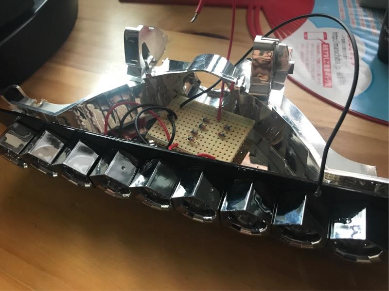 ハイマウントストップランプ LED化(自作)