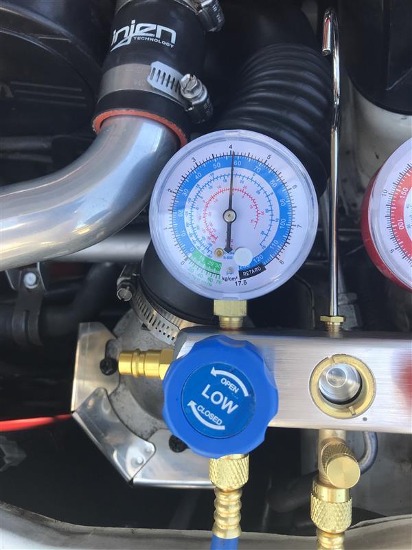 エアコン修理と134a化 その3