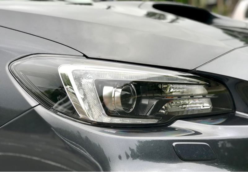 D型ヘッドライト溶け対策