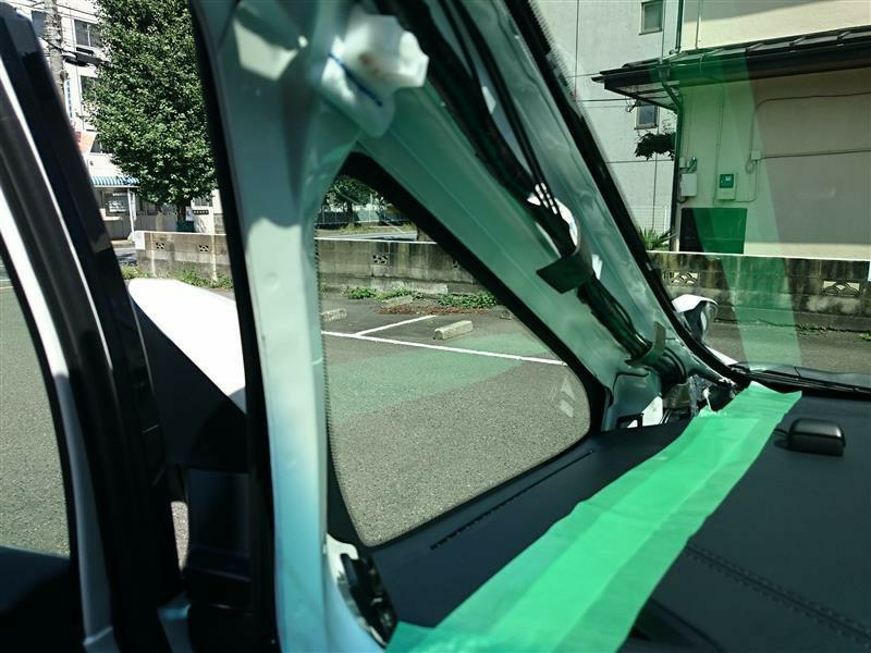 ドライブレコーダー取り付け-Ⅰ