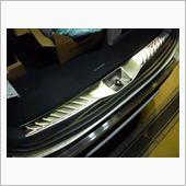 シルクブレイズ製 ラゲージスカッフプレート(ヘアライン仕上げ)の画像