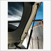 スマートルームミラーリアの配線整備の画像