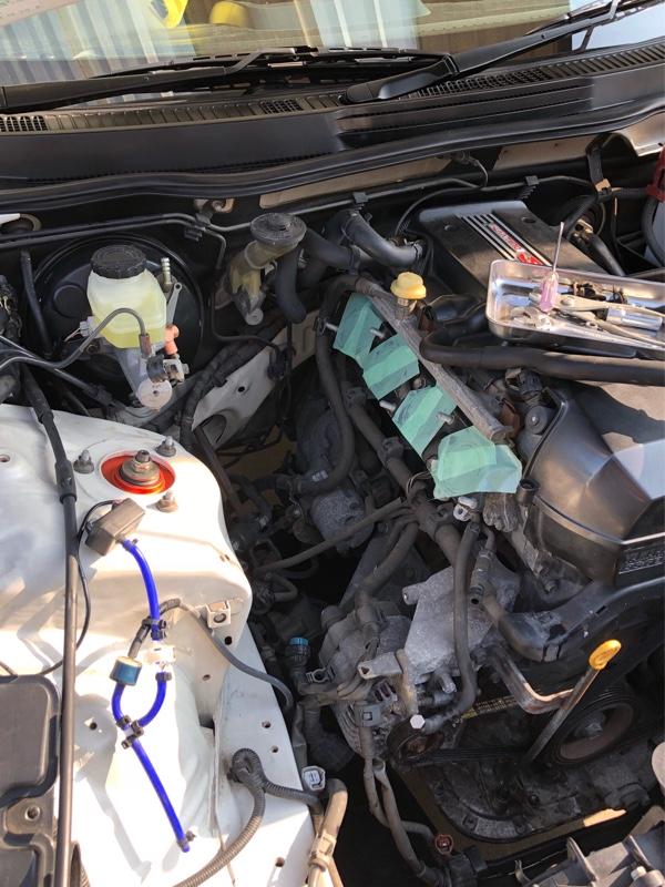 クラッチマスター、レリーズとエンジンマウント交換