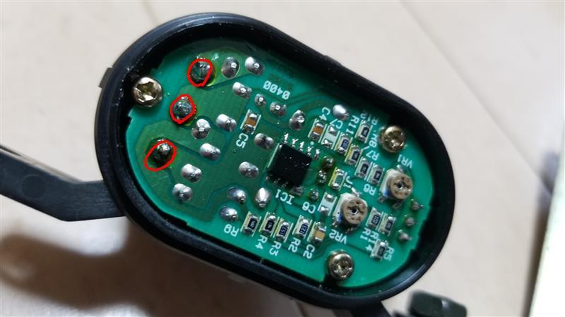 ブーストセンサー修理