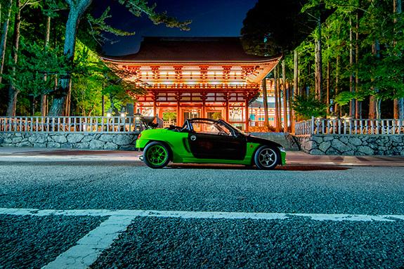 Honda Beat ホンダ ビート 高野山金剛峯寺