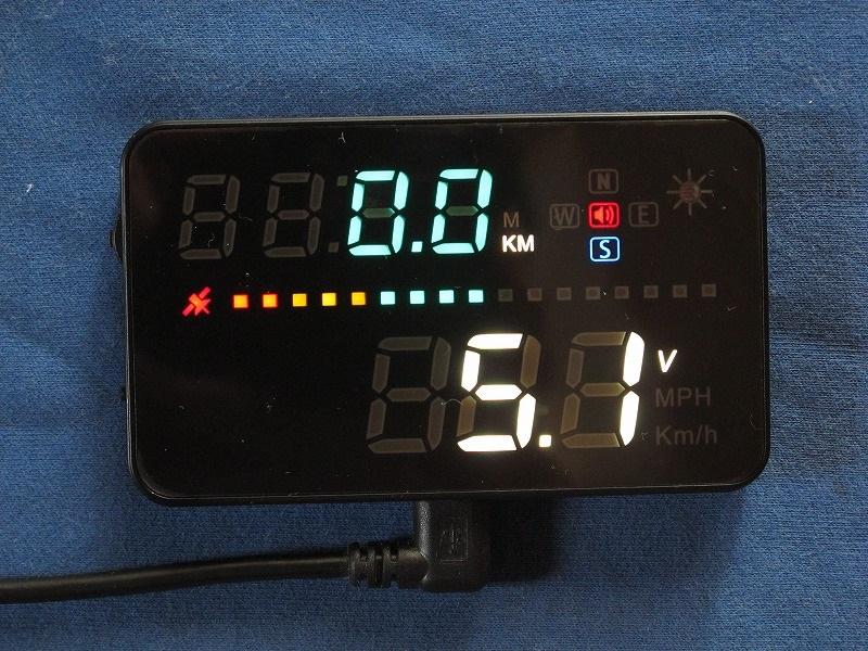 HUDネオトーキョー スピードメーター GPS-03