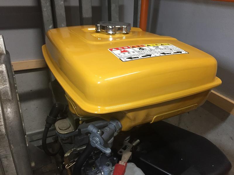 ㈱寺田ポンプ製作所製エンジンポンプ(ETS-100)のフューエルタンク&キャブレーターASSY交換他