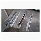 サイドシル錆取り・防錆処理・サイドステップ手直しの画像