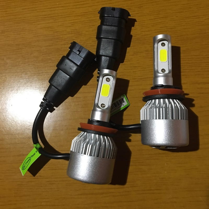ヘッドライトのバルブ交換
