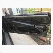 集中ドアロック、窓閉めた時の異音修理 part.1