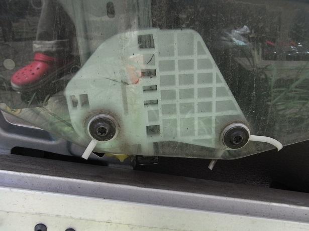 窓落ち修理(その1)