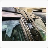窓モールの磨きテスト