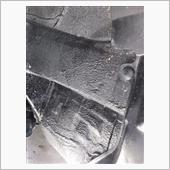 タイヤハウスのお掃除の画像
