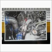 2GD-FTVエンジンのブローバイホースの画像