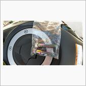 ブレーキキャリパーマウントボルトの交換の画像